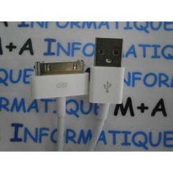 Câble USB Iphone 4/4S